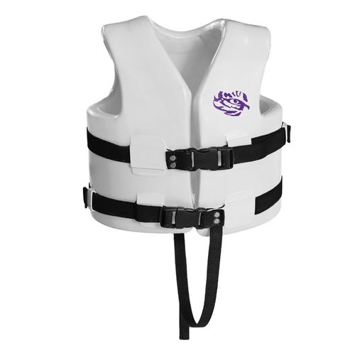 TRC Recreation Kids' Louisiana State University Super Soft™ Life Vest - view number 1