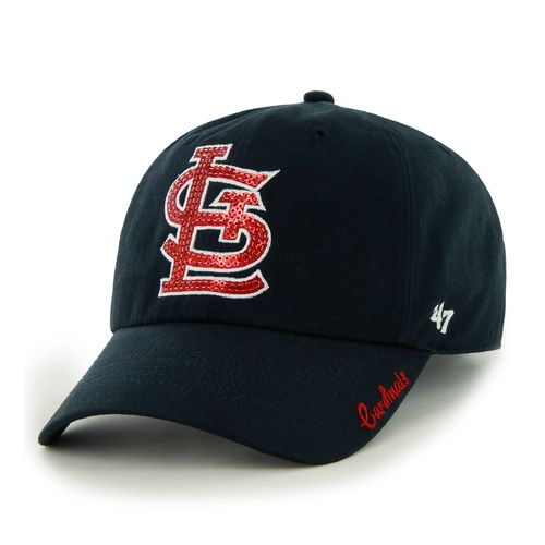 '47 Women's St. Louis Cardinals Sparkle Clean Up Cap