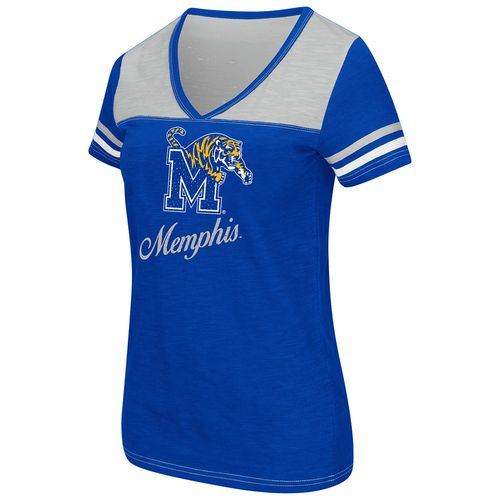 Colosseum Athletics™ Women's University of Memphis Rhinestone T-shirt