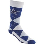 FBF Originals Adults' Dallas Cowboys Team Pride Flag Top Dress Socks