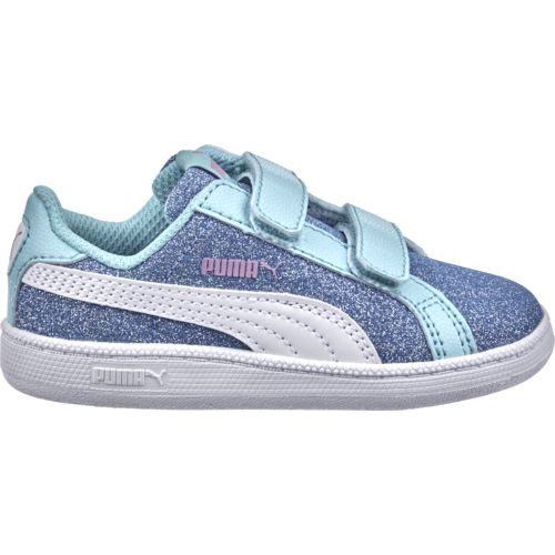 PUMA Toddler Girls' Smash Glitz Glam Shoes