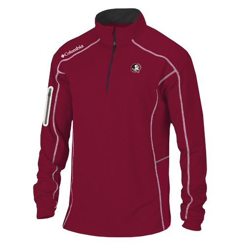 Columbia Sportswear™ Men's Florida State University Shotgun 1/4 Zip Pullover - view number 1