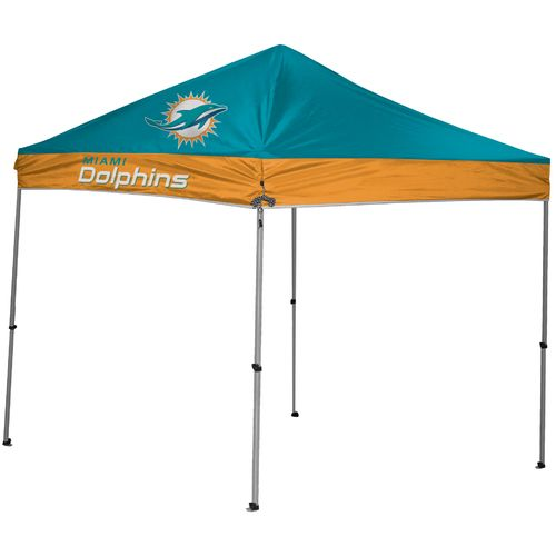 Coleman® Miami Dolphins 9' x 9' Straight-Leg Canopy