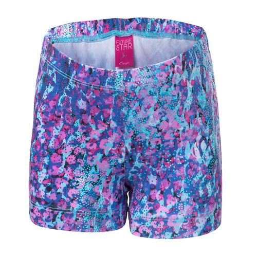 Capezio Girls' Future Star Electric Jungle Printed Short