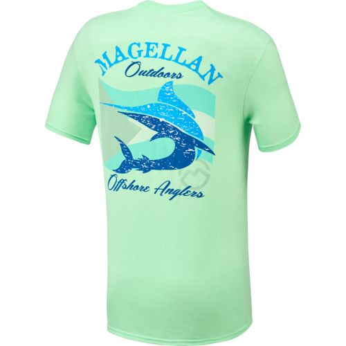 Display product reviews for Magellan Outdoors Men's Marlin Flag Short Sleeve T-shirt