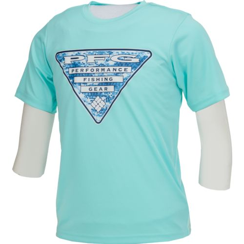 Display product reviews for Columbia Sportswear Boys' PFG Triangle DigiCamo T-shirt