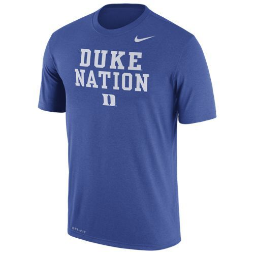 Nike™ Men's Duke University Dri-FIT Legend Logo T-shirt