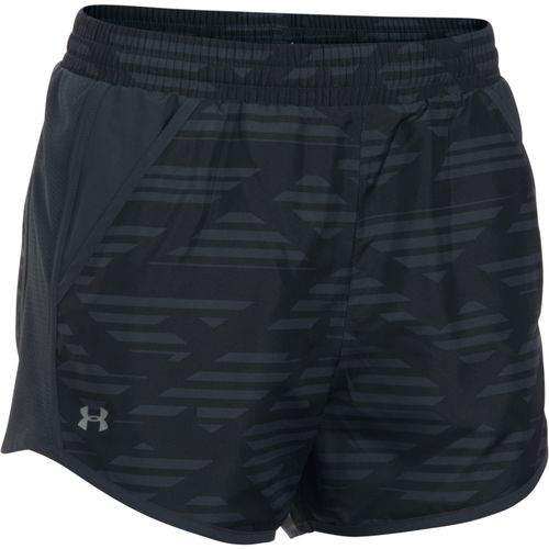 Under Armour Women's Fly By Printed Running Short - view number 1