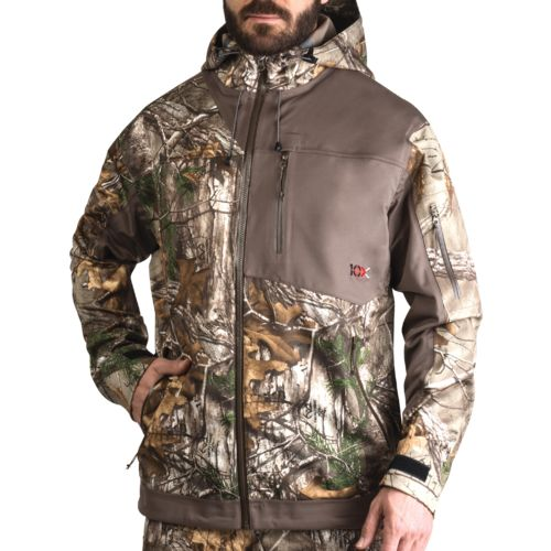 10X Men's Silent Storm Rainshell Jacket