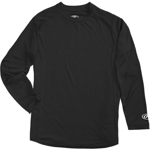 Rawlings Young Men's Long Sleeve Performance Shirt - view number 4