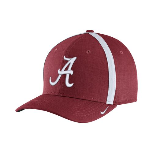 Nike™ Men's University of Alabama AeroBill Sideline Coaches Cap