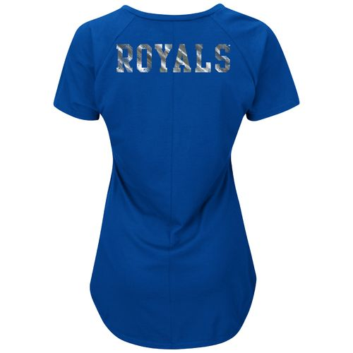 Majestic Women's Kansas City Royals Bright Lights T-shirt - view number 2