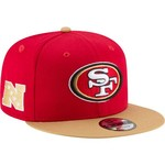 New Era Men's San Francisco 49ers 9FIFTY Baycik Snapback Cap - view number 3