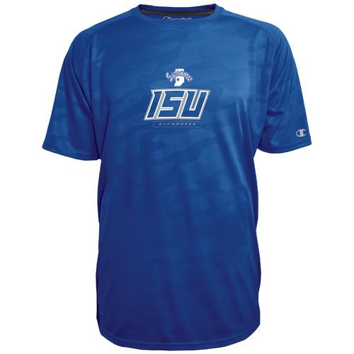 Champion™ Men's Indiana State University Impact Embossed T-shirt