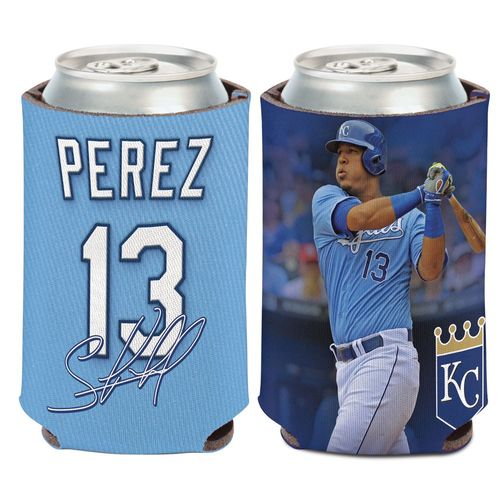 WinCraft Kansas City Royals Salvador Perez 13 Can Cooler