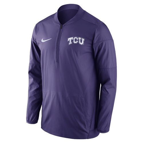 Nike Men's Texas Christian University Lockdown 1/2 Zip Jacket
