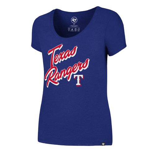'47 Texas Rangers Women's Script Club T-shirt