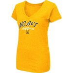 Colosseum Athletics Women's North Carolina A&T State University Team Font Arch T-shirt - view number 1