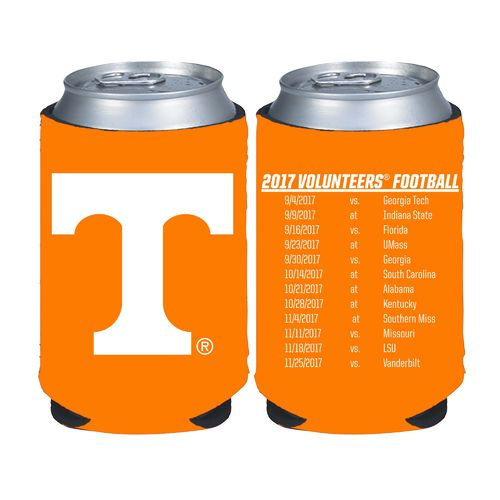 Kolder Kaddy University of Tennessee 2017 Football Schedule 12 oz Can Insulator