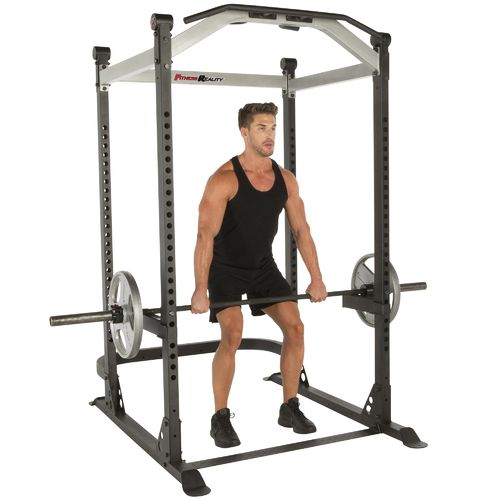 Fitness Reality X-Class Light Commercial High Capacity Olympic Power Cage - view number 1