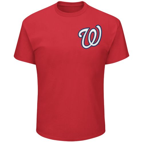 Majestic Men's Washington Nationals Crew Neck Short Sleeve T-shirt - view number 1