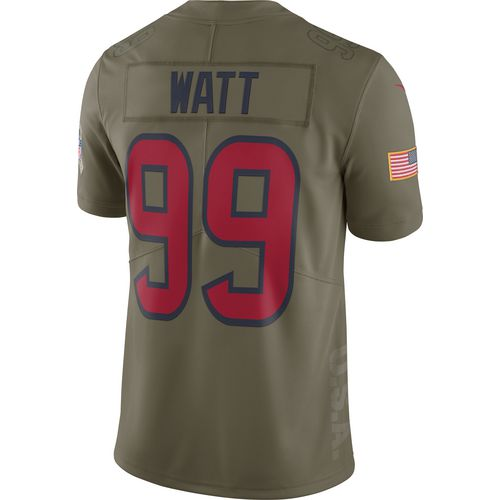 Nike Men's Houston Texans J.J. Watt Salute to Service '17 Limited Jersey
