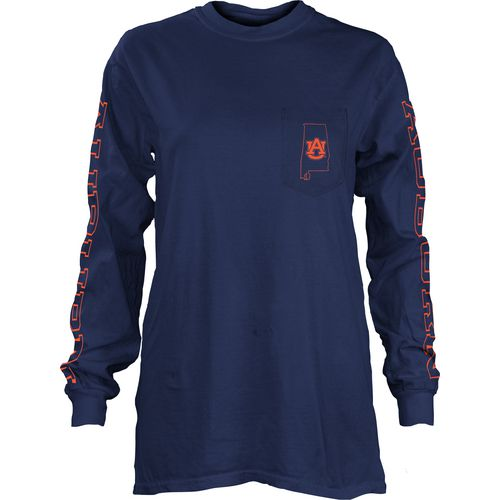 Three Squared Juniors' Auburn University Mystic Long Sleeve T-shirt