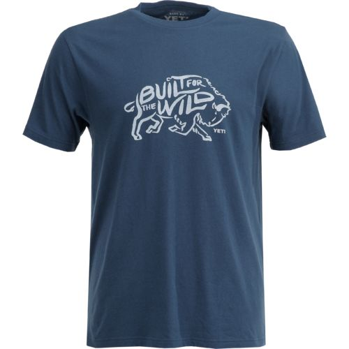 YETI Men's Built for the Wild Bison Short Sleeve T-shirt - view number 1