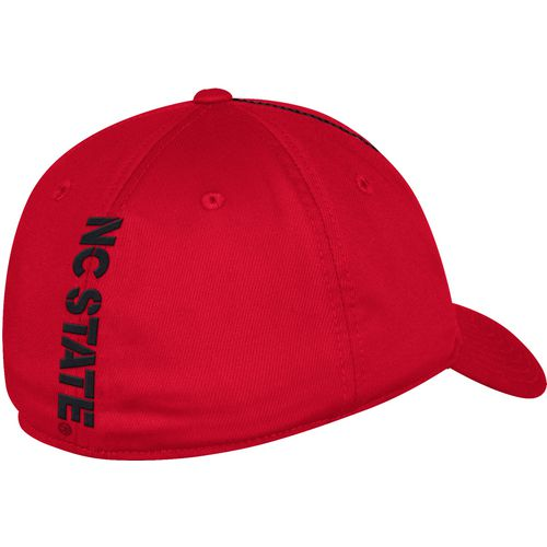 adidas Men's North Carolina State University Coach Structured Flex Cap - view number 2