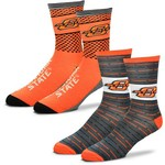 For Bare Feet Men's Oklahoma State University Father's Day Socks - view number 1