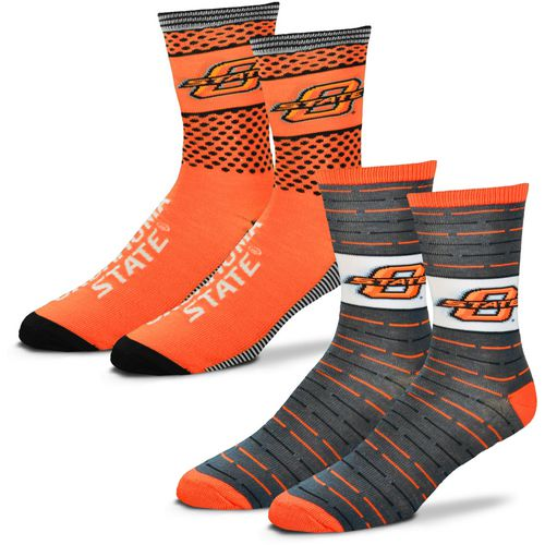 For Bare Feet Men's Oklahoma State University Father's Day Socks