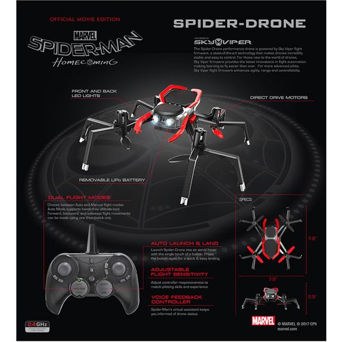 Sky Viper Official Movie Edition Spider-Drone - view number 8