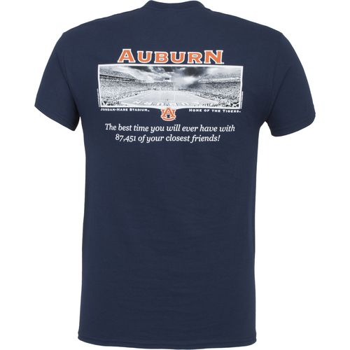 New World Graphics Men's Auburn University Friends Stadium T-shirt