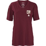 Three Squared Juniors' Texas State University Team For Life Short Sleeve V-neck T-shirt - view number 2