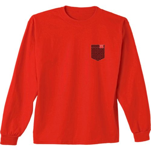 New World Graphics Women's Texas Tech University Faux Pocket Long Sleeve T-shirt - view number 2