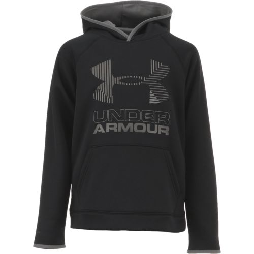 Under Armour Boys' Slide Big Logo Hoodie