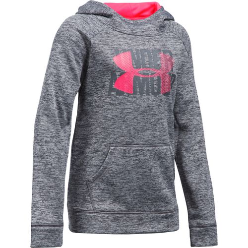 Under Armour Girls' Novelty Big Logo Fleece Hoodie