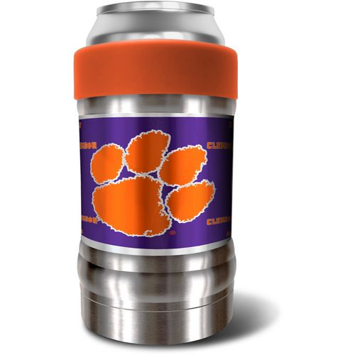 Great American Products Clemson University LOCKER Vacuum-Insulated 12 oz Can/Bottle Holder