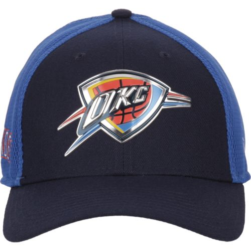 New Era Men's Oklahoma City Thunder On Court 2-Tone 39THIRTY Cap