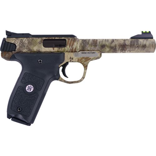 Smith & Wesson SW22 Victory Kryptek .22 LR Threaded Barrel Pistol