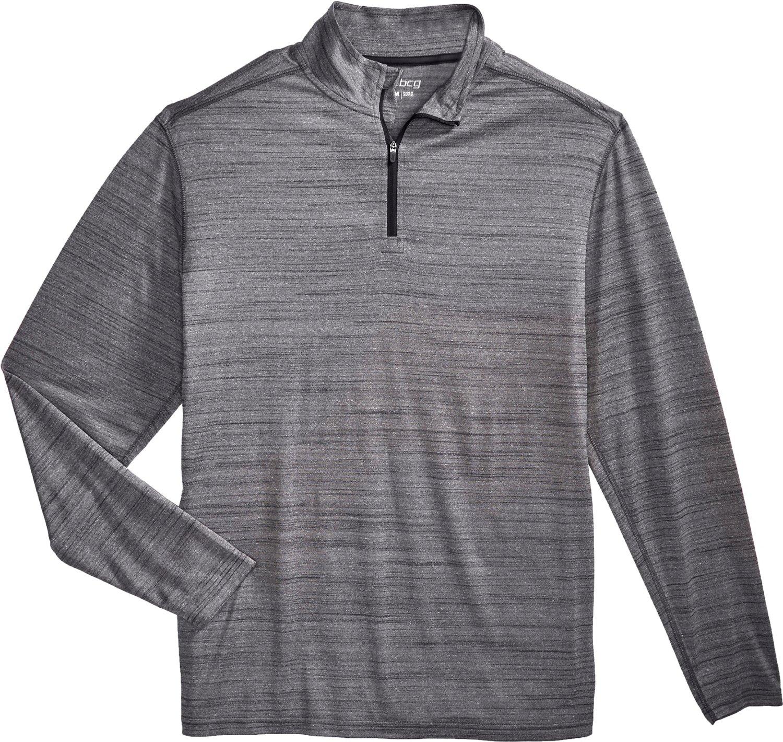 BCG Men's Turbo 1/4 Zip Long Sleeve Shirt | Academy