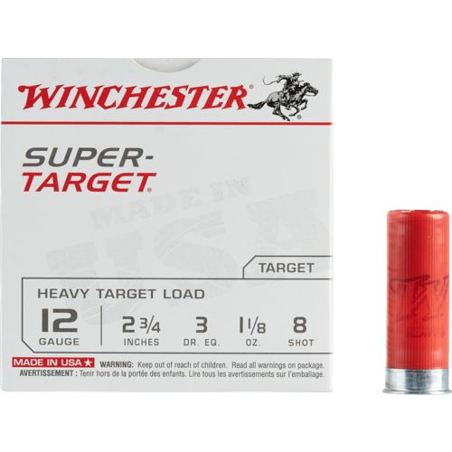 Winchester Target Load 12 Gauge 8 Shotshells - view number 1