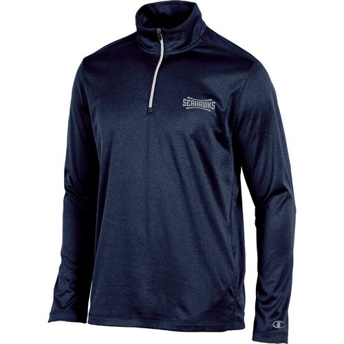 Champion Men's University of North Carolina at Wilmington Victory 1/4 Zip Long Sleeve Pullover