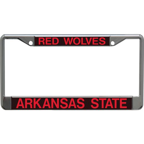 Stockdale Arkansas State University Mirror Metal License Plate Frame