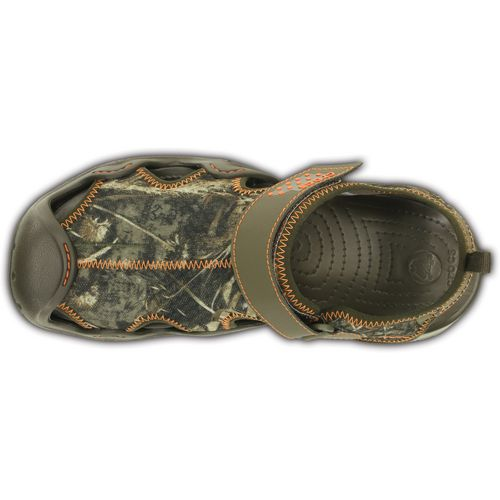 Crocs Men's Swiftwater Realtree Max-5 Sandals - view number 4