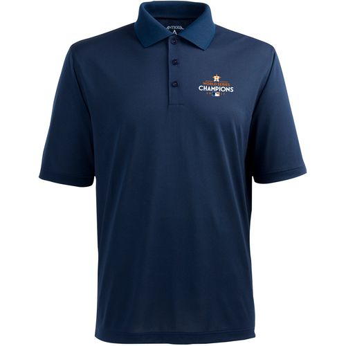 Antigua Men's Astros World Series Pique Polo