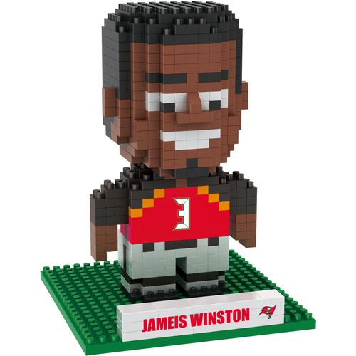 Forever Collectibles Tampa Bay Buccaneers Jameis Winston BRXLZ 3-D Player Puzzle