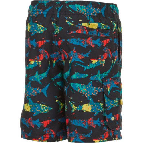 O'Rageous Boys' Palm Shark Printed Boardshorts - view number 2