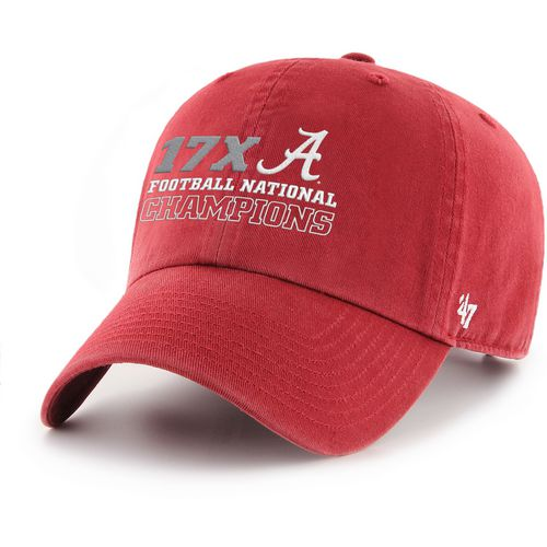 '47 University of Alabama Men's National Champs Clean Up Cap