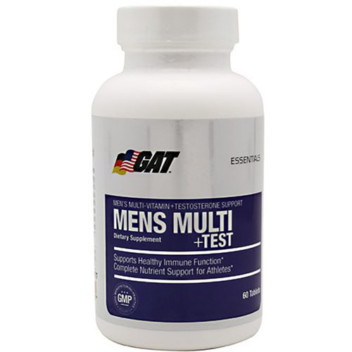 GAT Men's Multi+Test Multivitamin Tablets with Testosterone Support - view number 1
